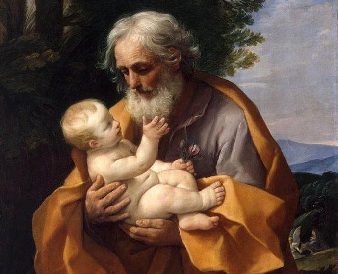 St. Joseph with infant Jesus