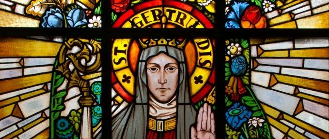 St. Gertrude of Nivelles - St. Gertrude Church, Vienna, Austria