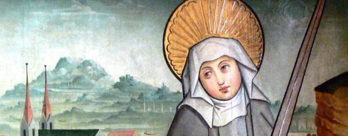 St. Juliana by Wolfgang Sauber - Oberhausmuseum - Passau, Germany