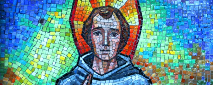 St. Peregrine Mosaic - The Grotto - Portland, OR