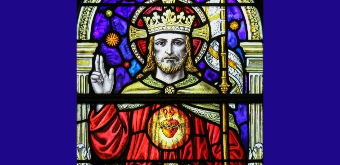 Christ the King stained glass – St. Joseph's Seminary – Dunwoodie, NY